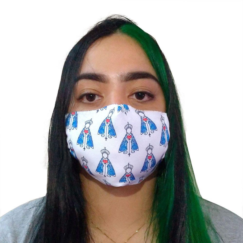 Máscara Fé Nossa Senhora de Fátima III