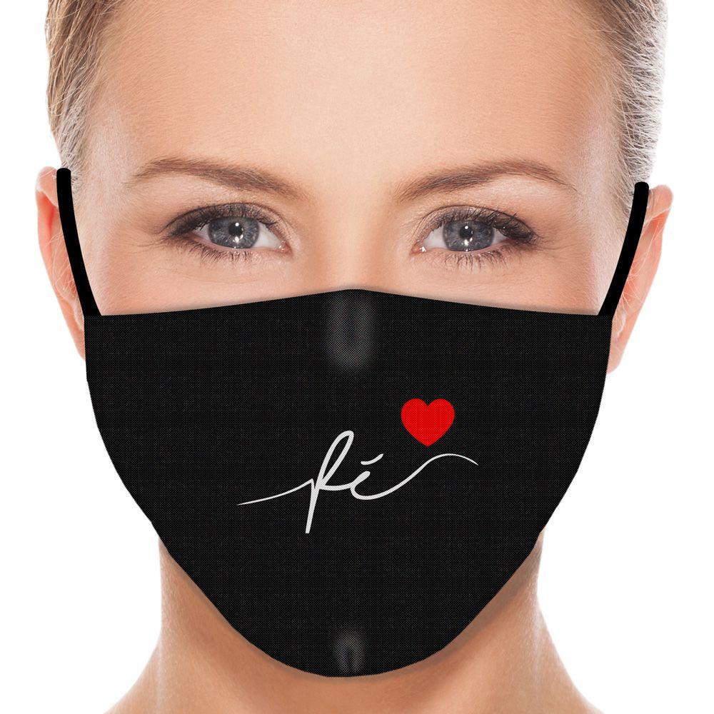 Máscara Fé II (Preto)