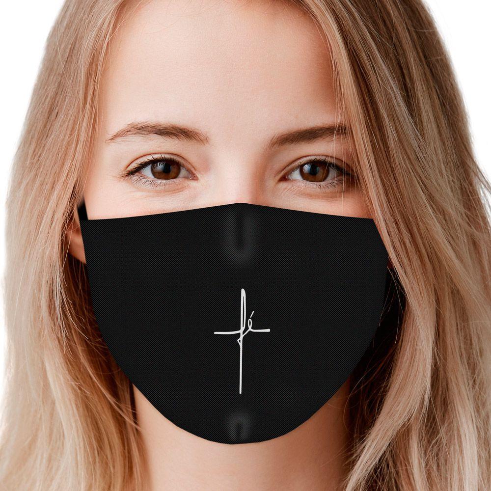 Máscara Fé III (Preto)