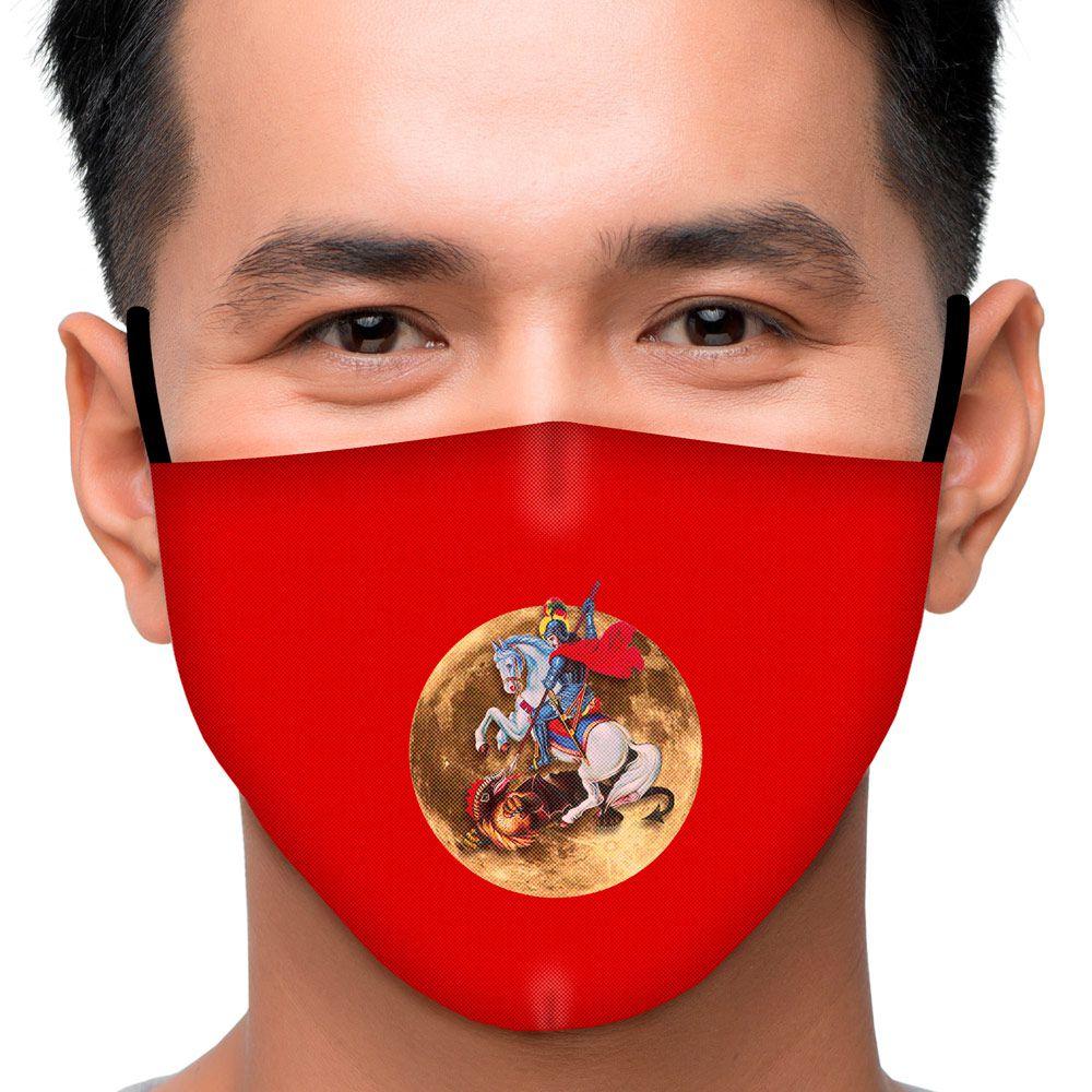 Máscara Fé São Jorge