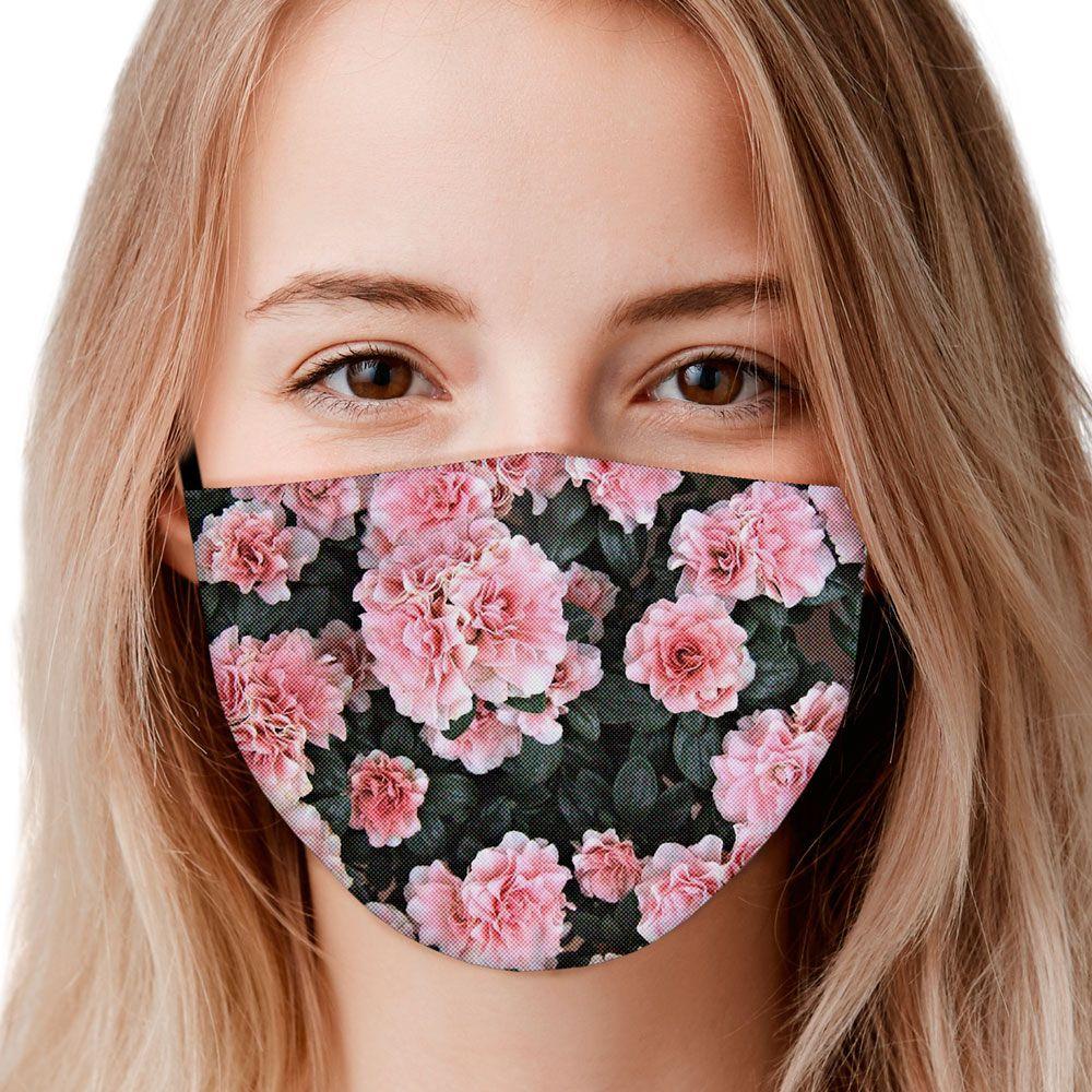 Máscara Flores