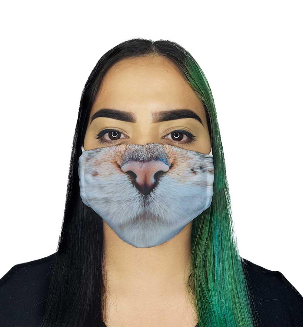 Máscara Focinho de Gato