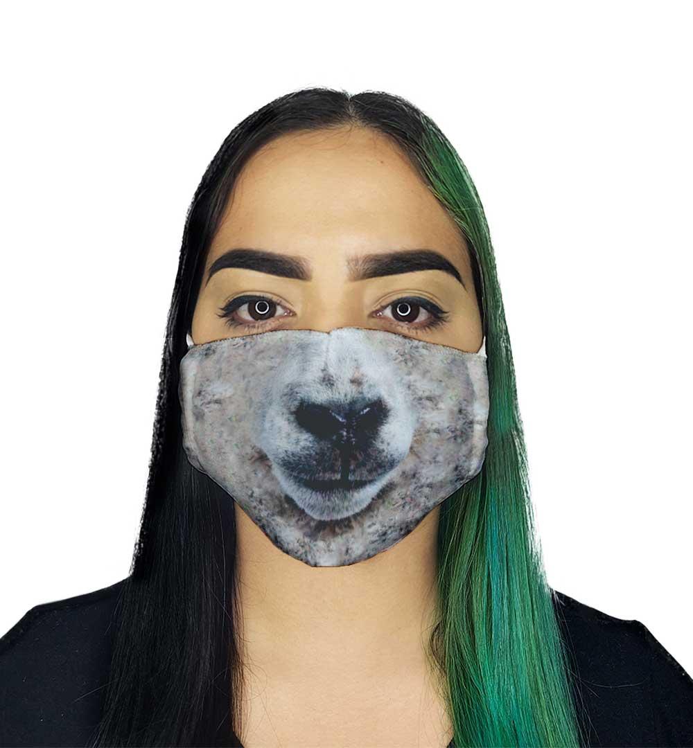 Máscara - Focinho de Ovelha