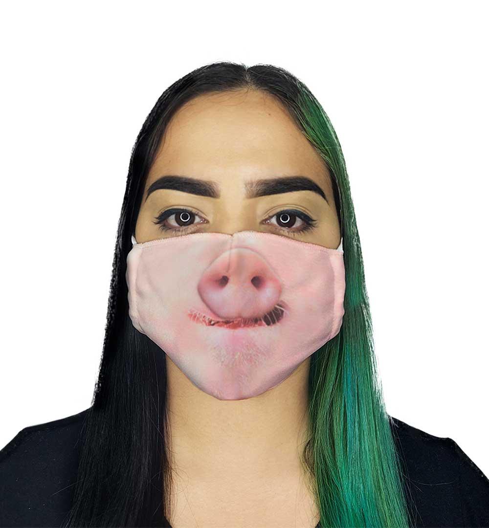 Máscara - Focinho de Porco