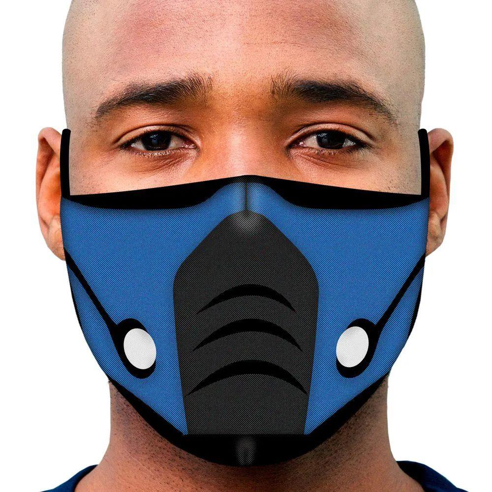 Mascara Kombat Sub Zero