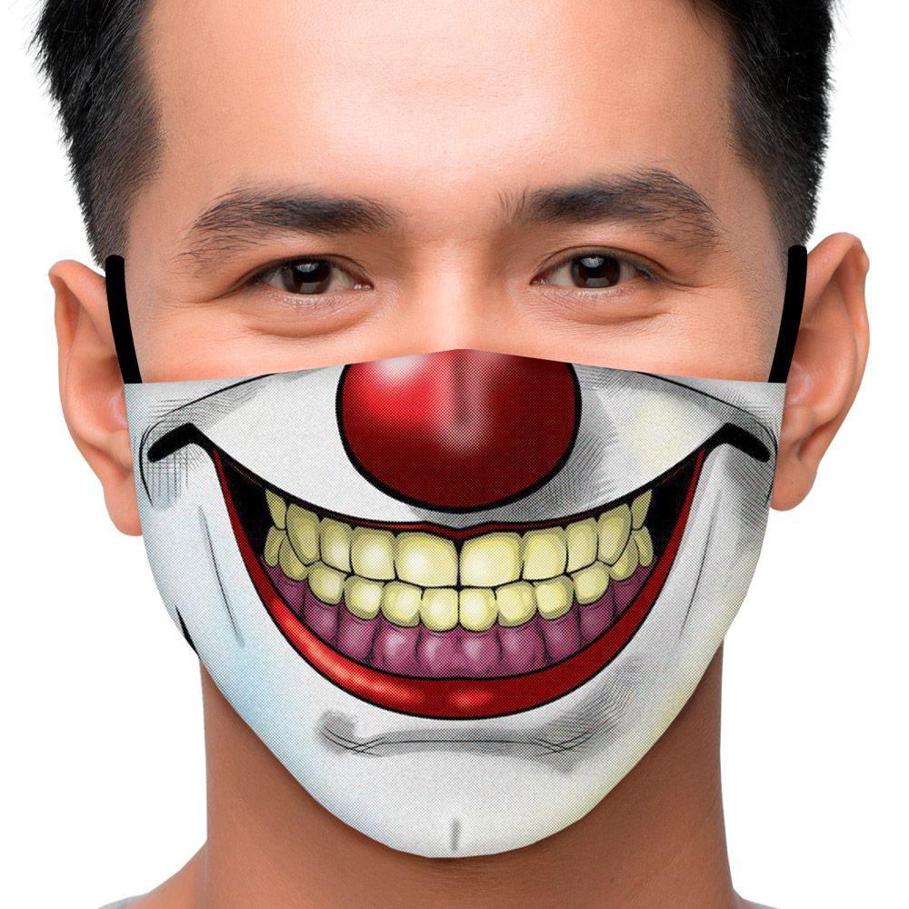 Máscara Palhaço Cartoon