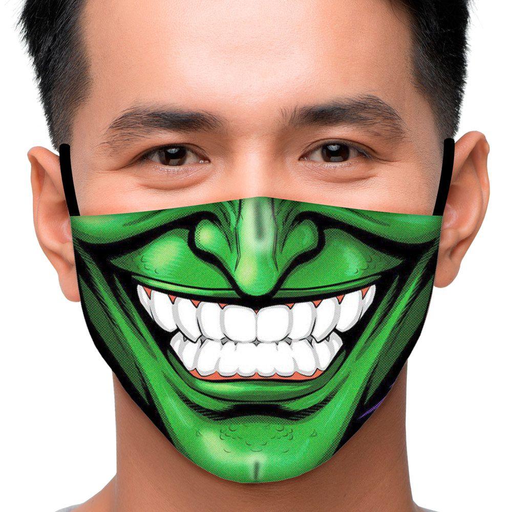 Máscara Sorriso Verde
