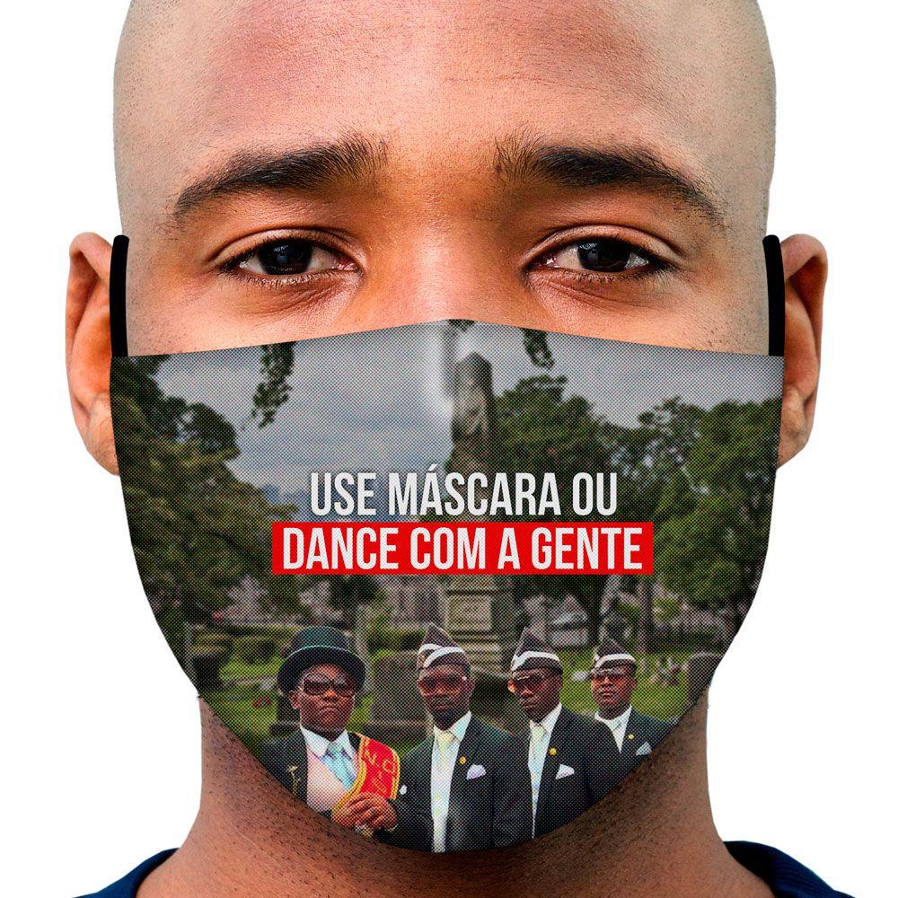 Máscara Meme Caixão