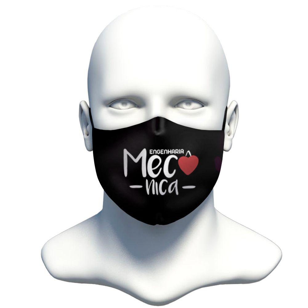 Máscara Profissão Mecânica