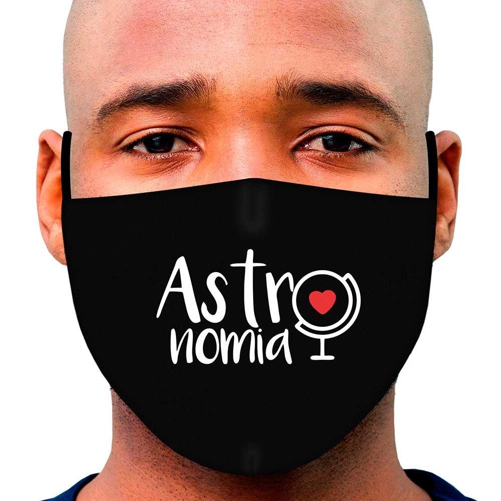 Máscara Profissão Astronomia
