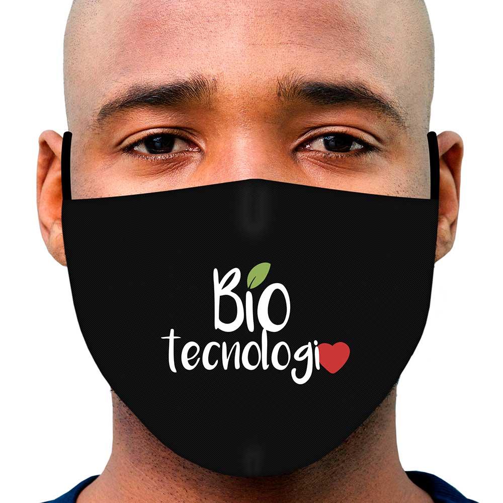 Máscara Profissão Biotecnologia