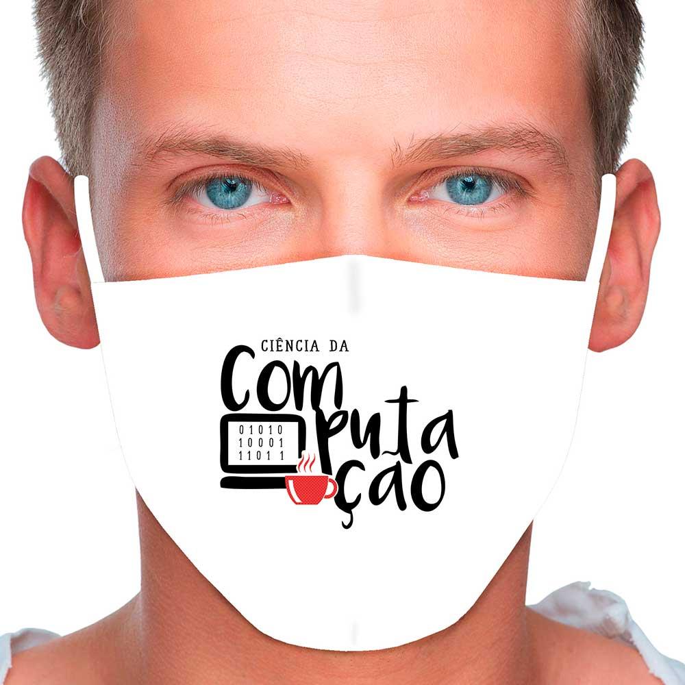 Máscara Profissão Ciência da Computação