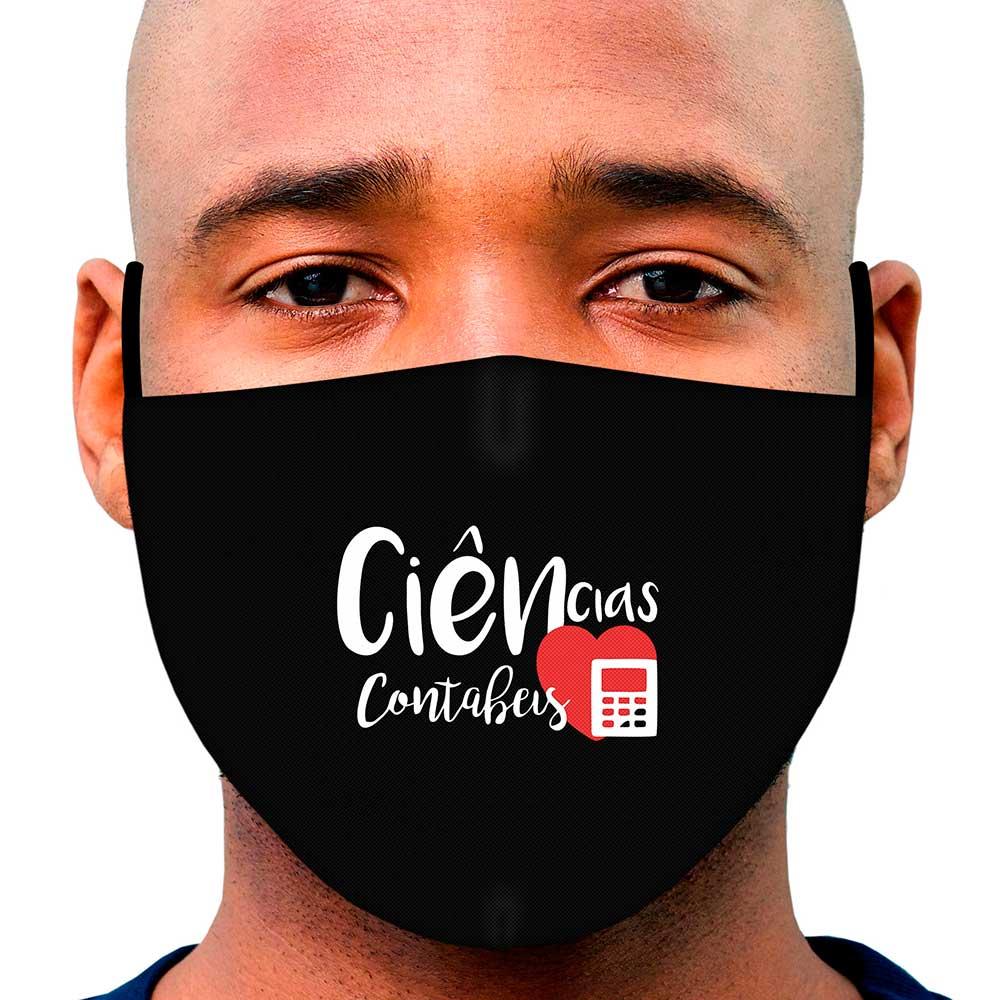 Máscara Profissão Ciências Contábeis