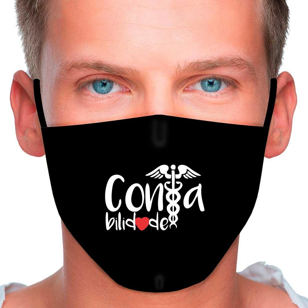 Máscara Profissão Contabilidade