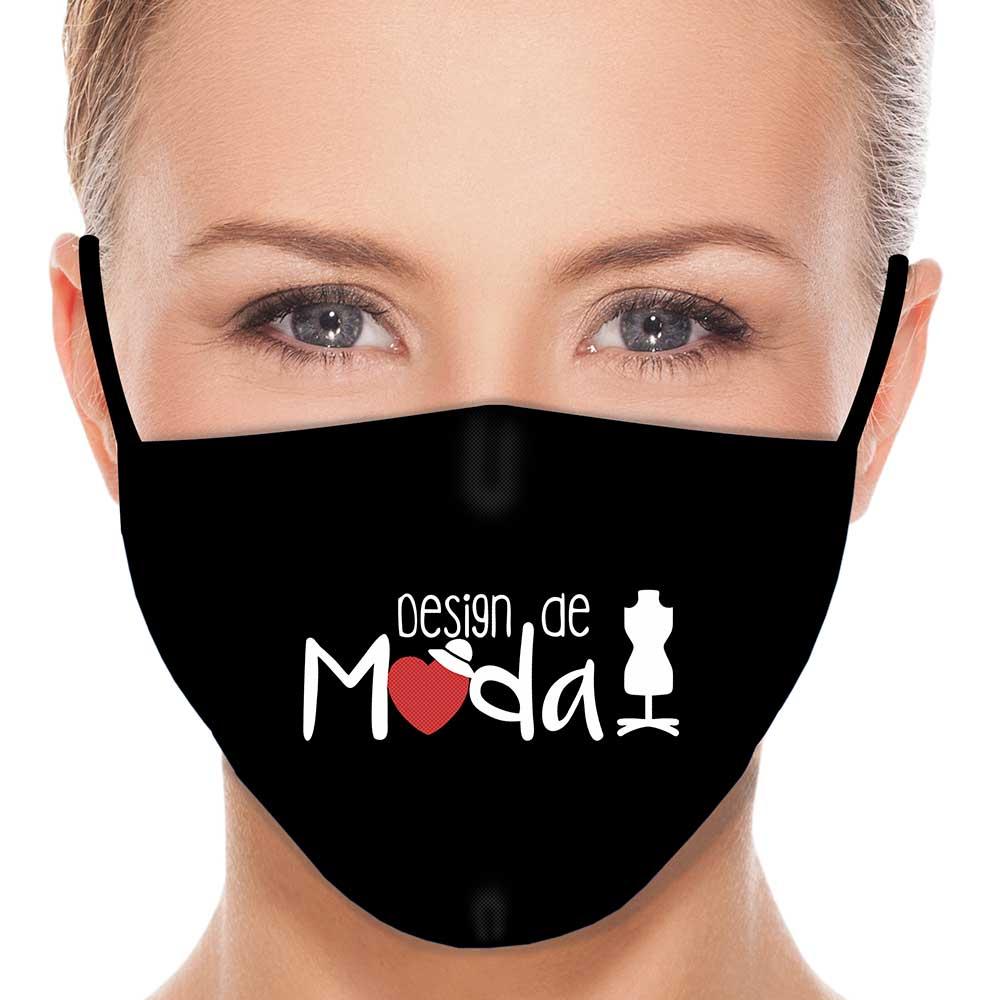 Máscara Profissão Designer de Moda