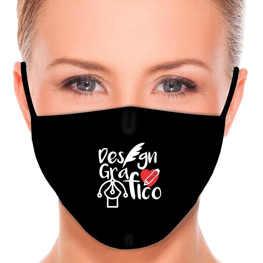 Máscara Profissão Designer Gráfico