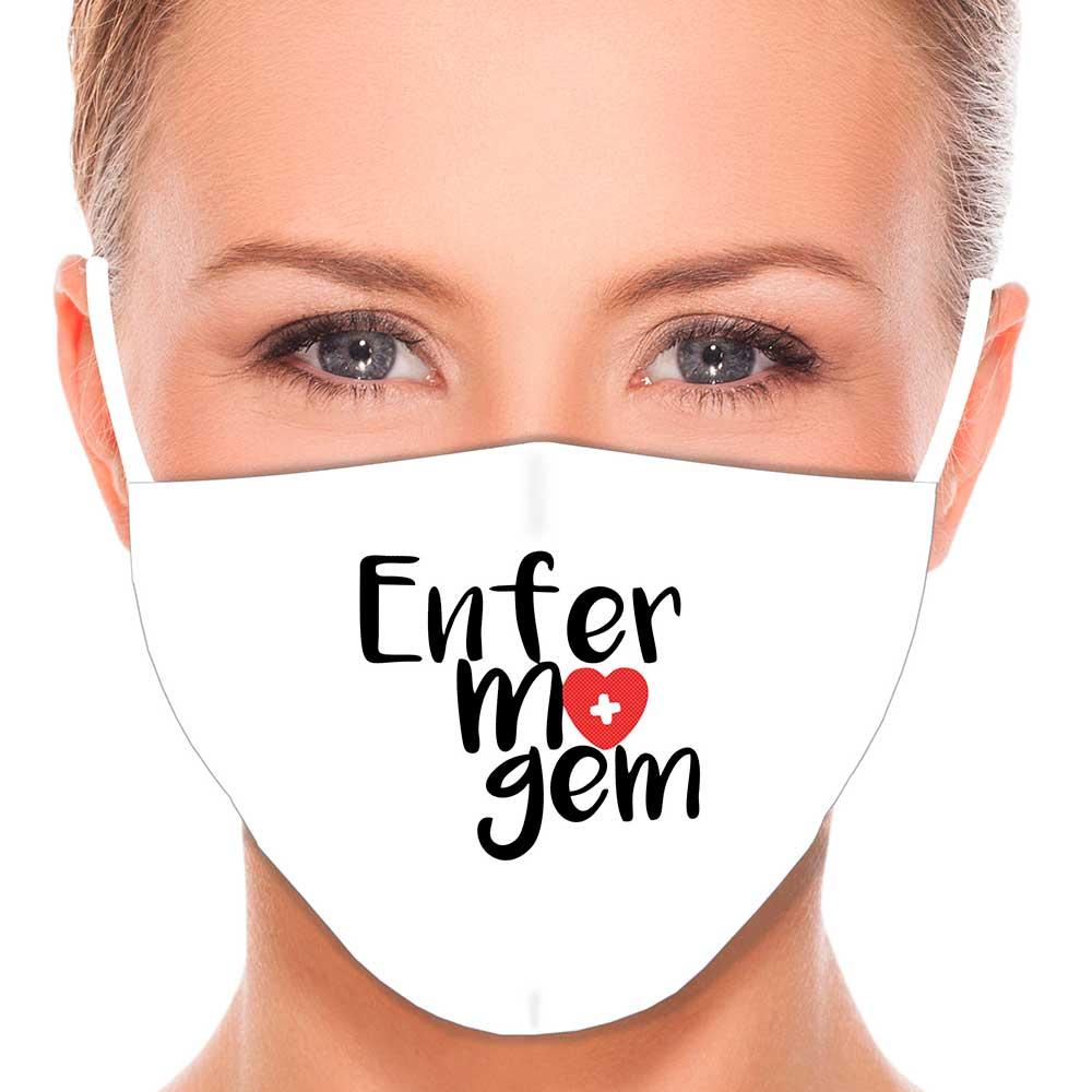 Máscara Profissão Enfermagem