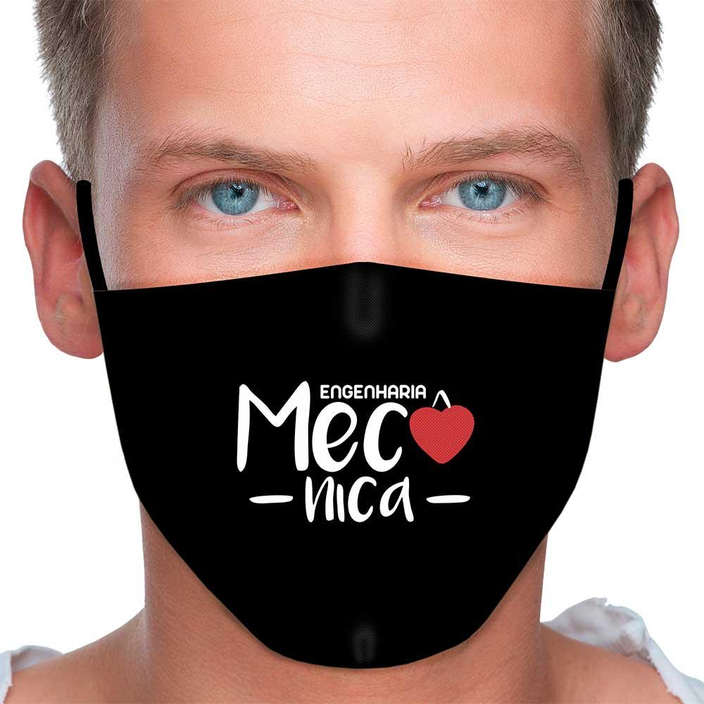 Máscara Profissão Engenharia Mecânica