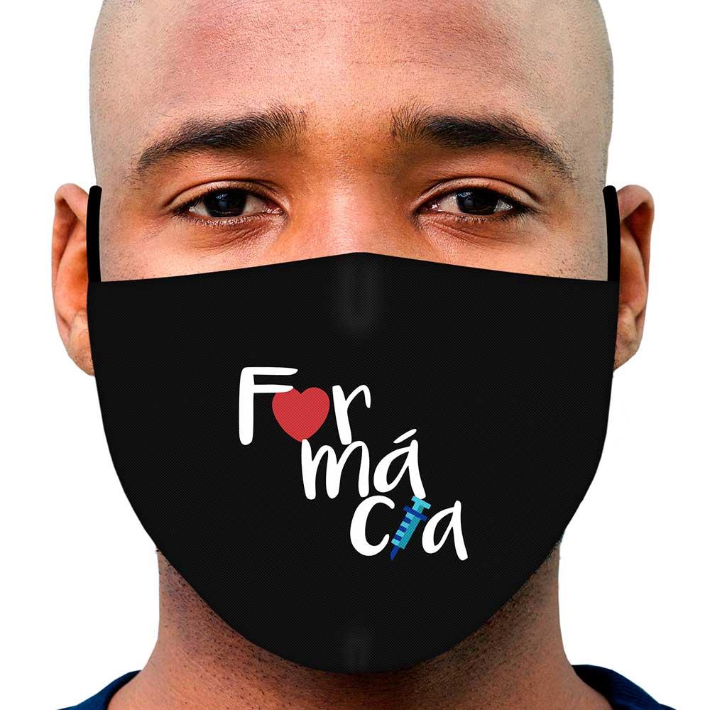Máscara Profissão Farmácia