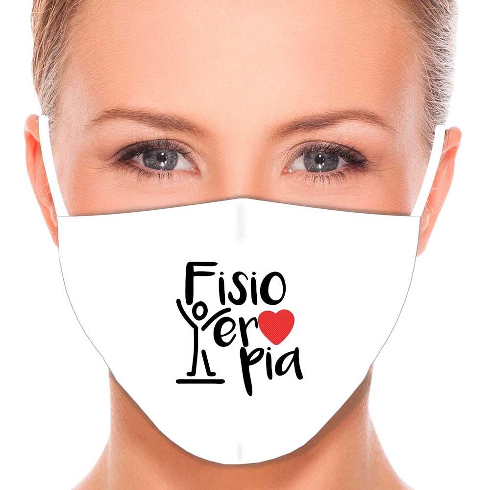 Máscara Profissão Fisioterapia