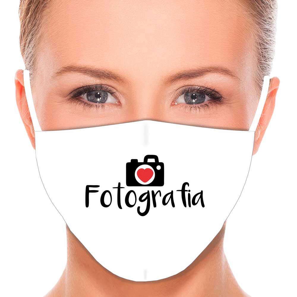 Máscara Profissão Fotografia