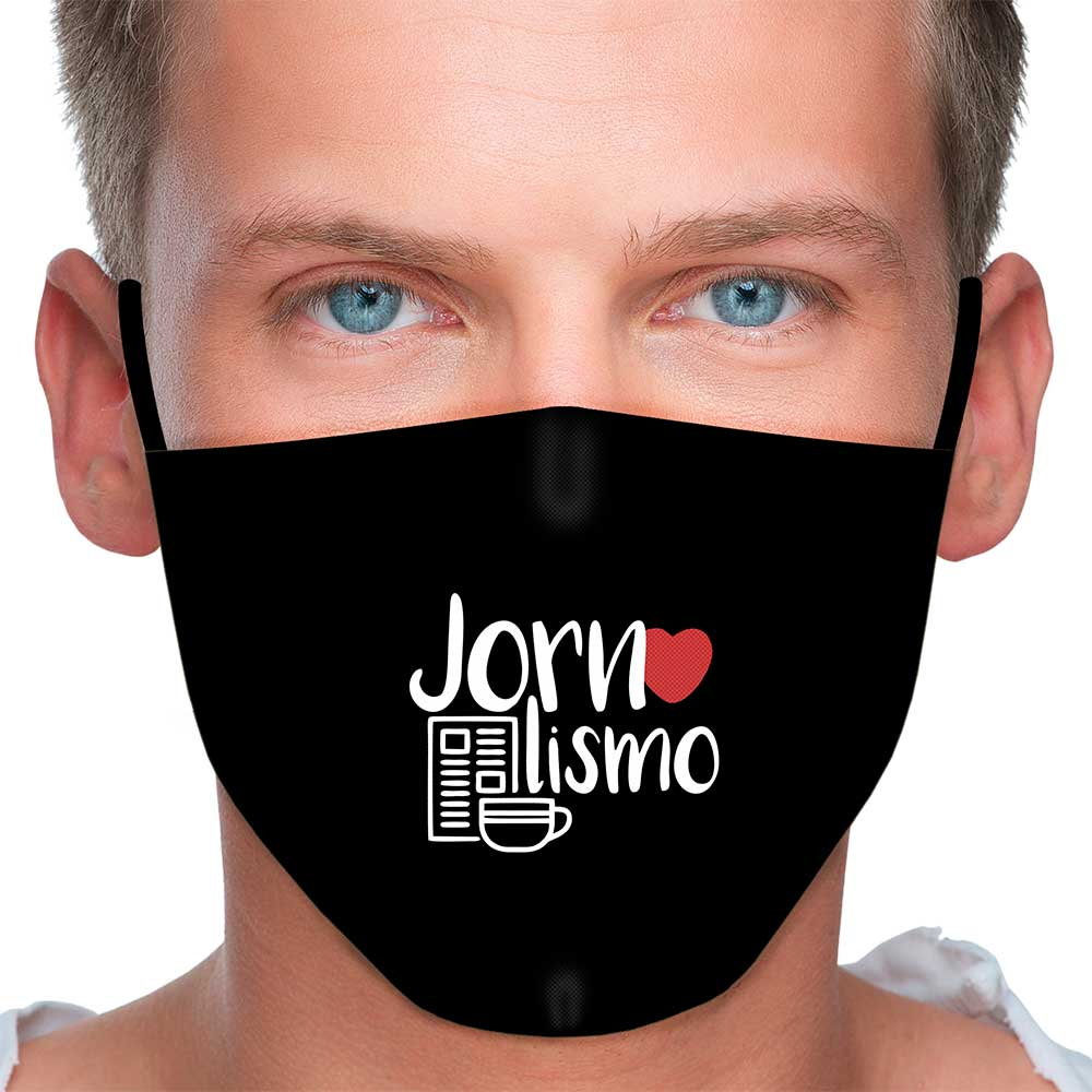 Máscara Profissão Jornalismo