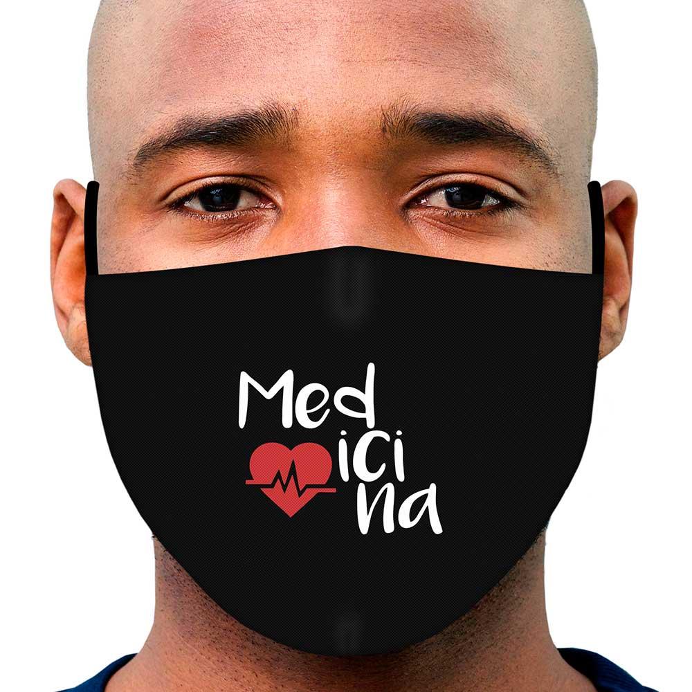 Máscara Profissão Medicina