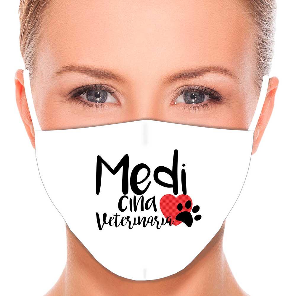 Máscara Profissão Medicina Veterinária