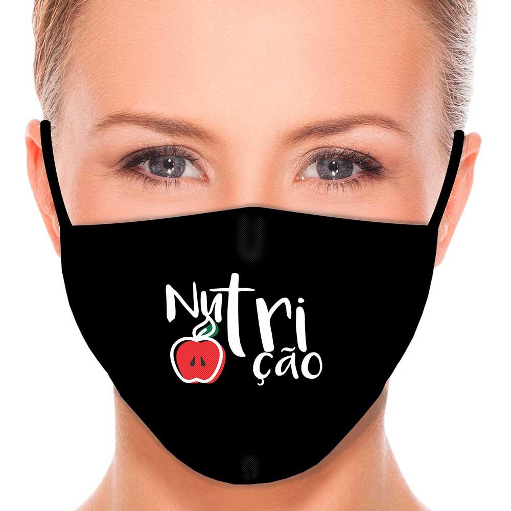 Máscara Profissão Nutrição
