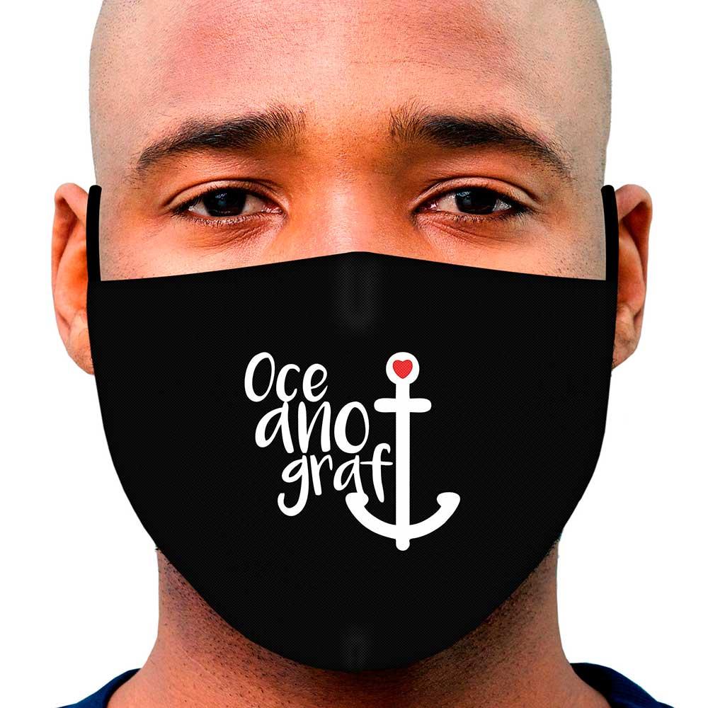 Máscara Profissão Oceanografia