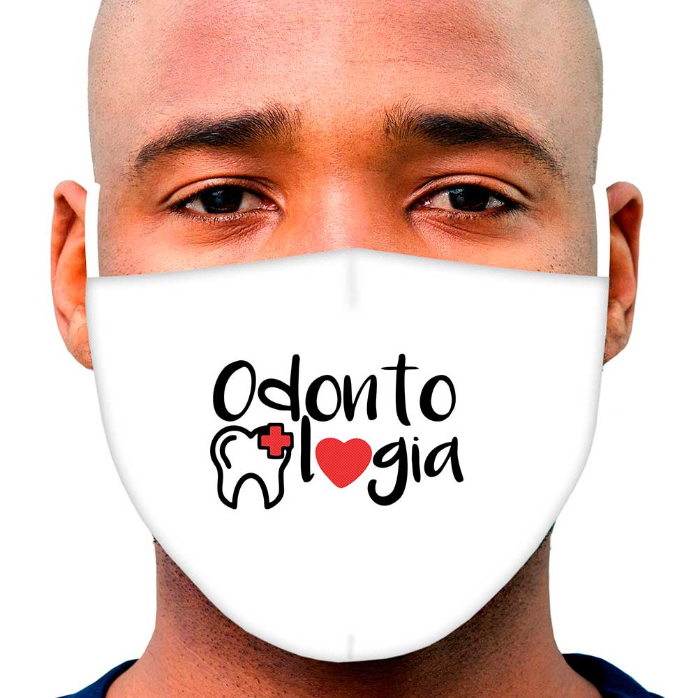 Máscara Profissão Odontologia