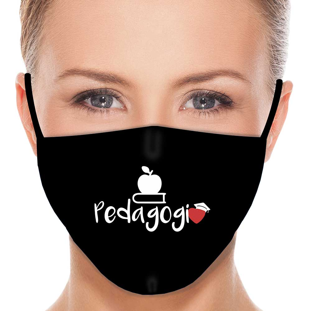 Máscara Profissão Pedagogia