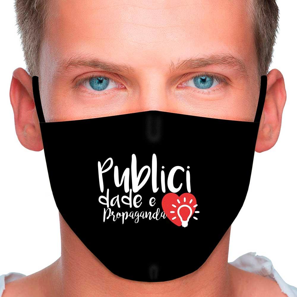 Máscara Profissão Publicidade e Propaganda