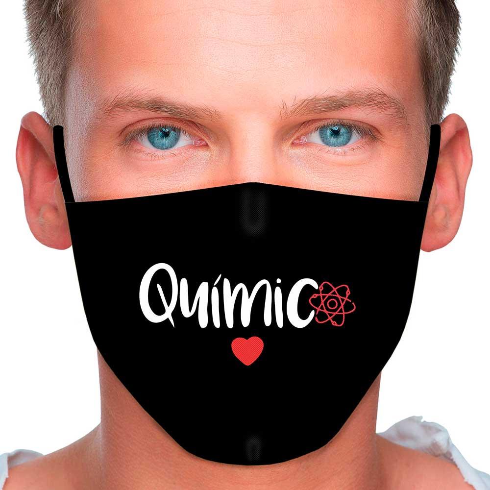 Máscara Profissão Químico