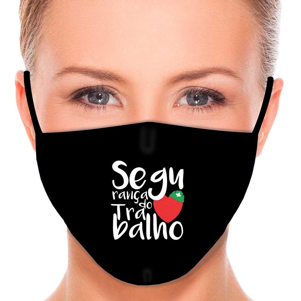 Máscara Profissão Segurança do Trabalho