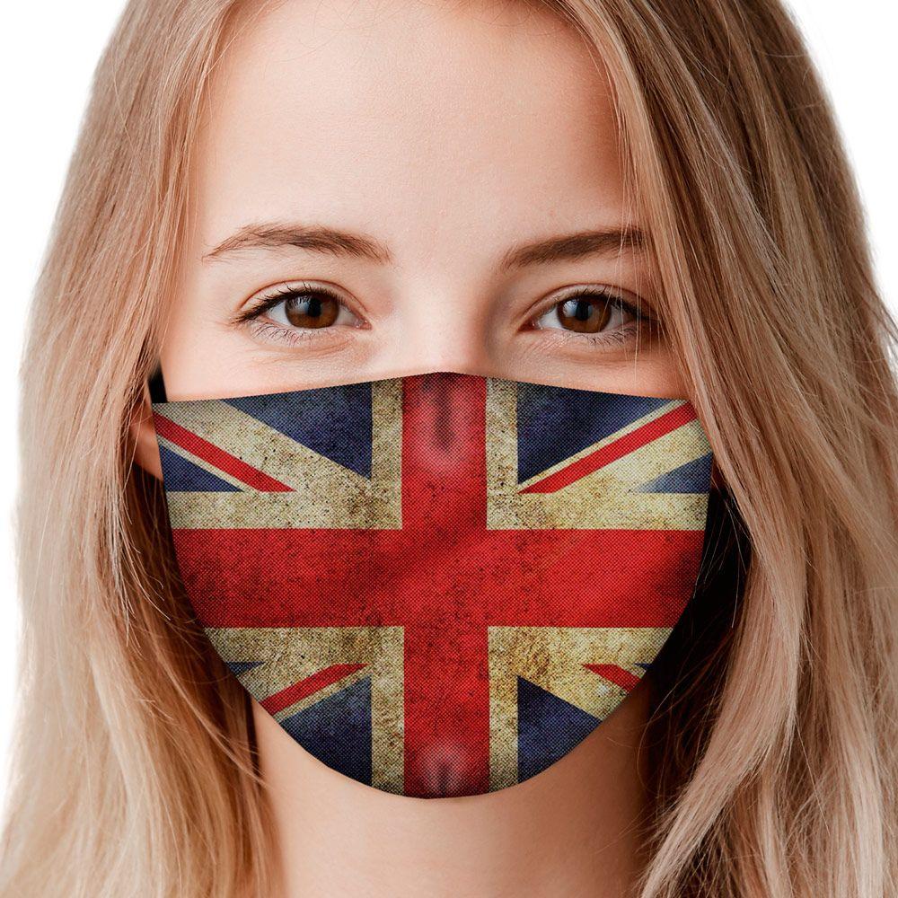 Máscara Reino Unido