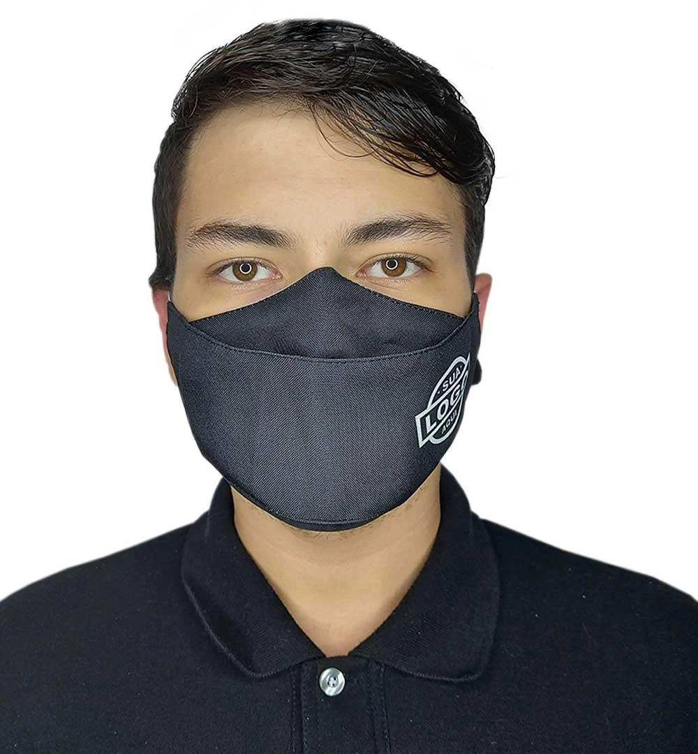Máscaras para Empresas Monte Seu Kit Modelo 3D