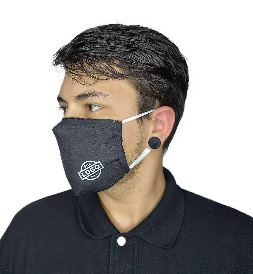 Máscaras para Empresas Monte Seu Kit Modelo Padrão