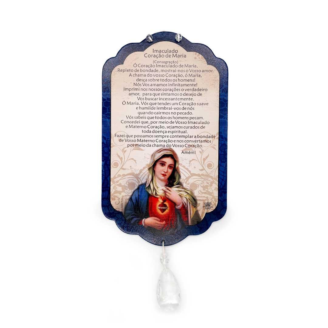 Móbile de Parede - Imaculado Coração de Maria