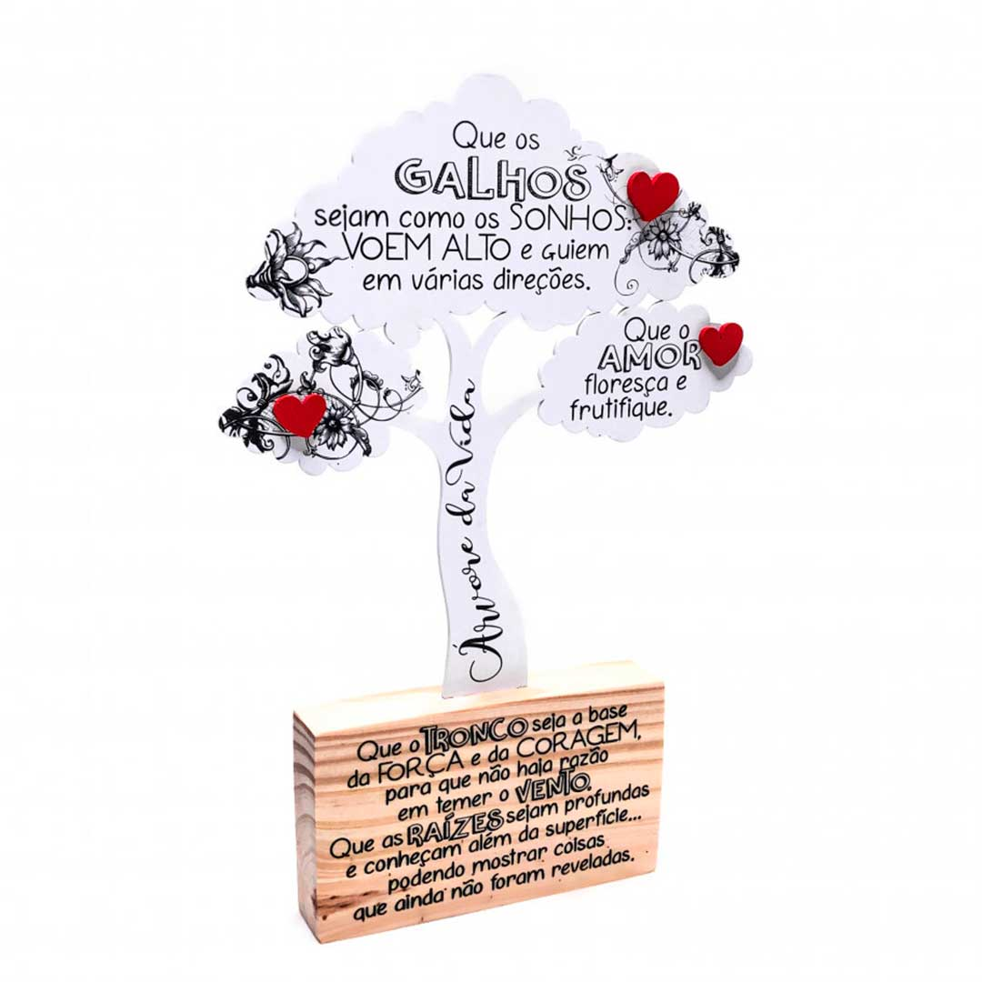 Placa de Mesa - Árvore da Vida