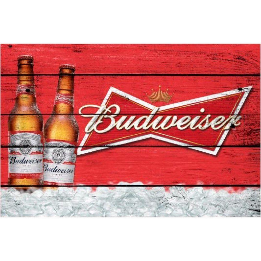 Placa Decorativa - Budweiser