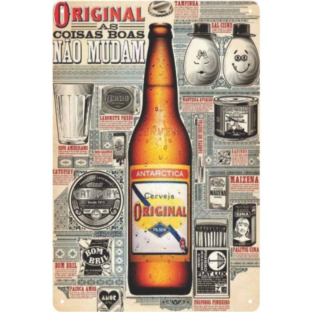 Placa Decorativa - Cerveja Original