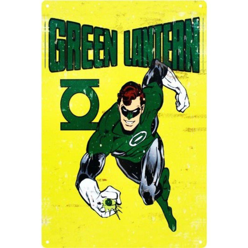 Placa Decorativa - Green Lantern