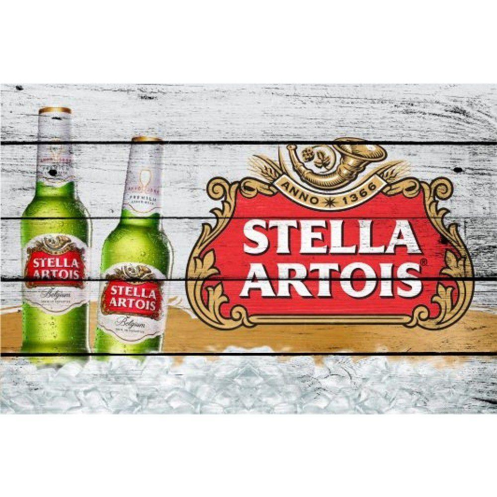 Placa Decorativa - Stella Artois