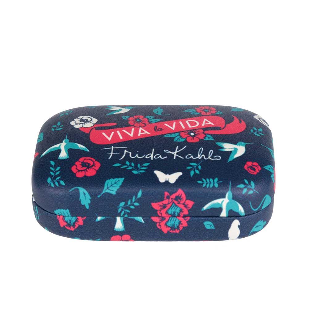 Porta Lentes de Contato - Frida Kahlo Birds and Flowers
