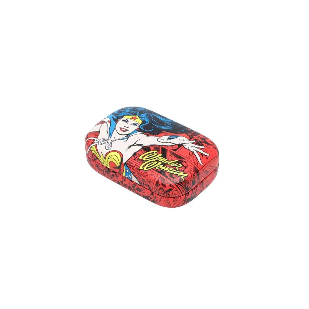 Porta Lentes de Contato - Mulher Maravilha Vermelho