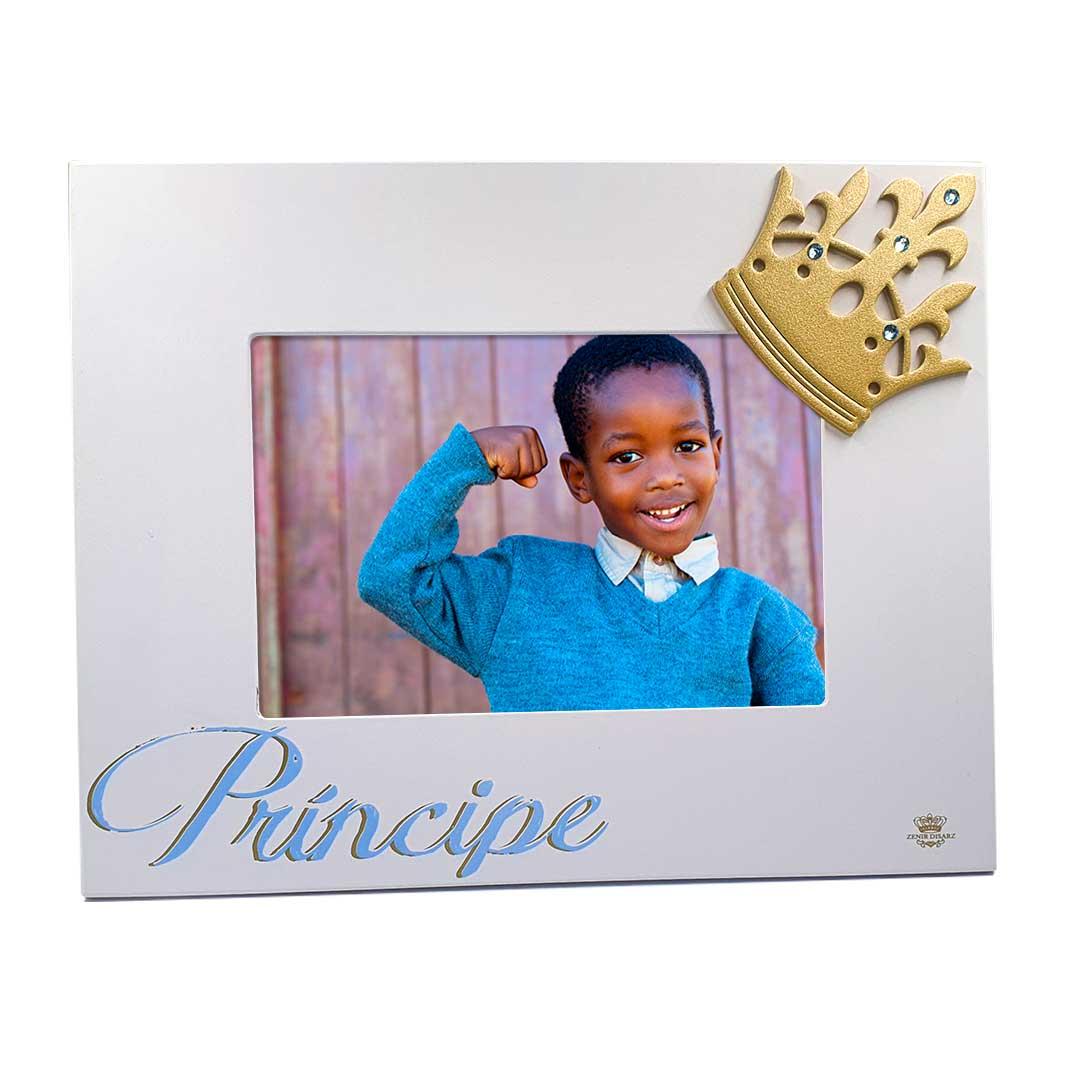 Porta-Retrato Azul - Príncipe