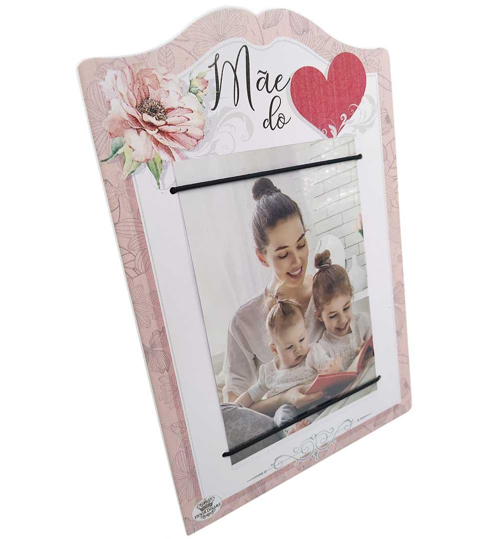 Porta Retrato Com Elástico - Mãe Do Coração