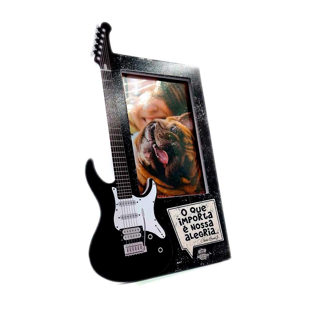 Porta Retrato Guitarra - Nossa Alegria