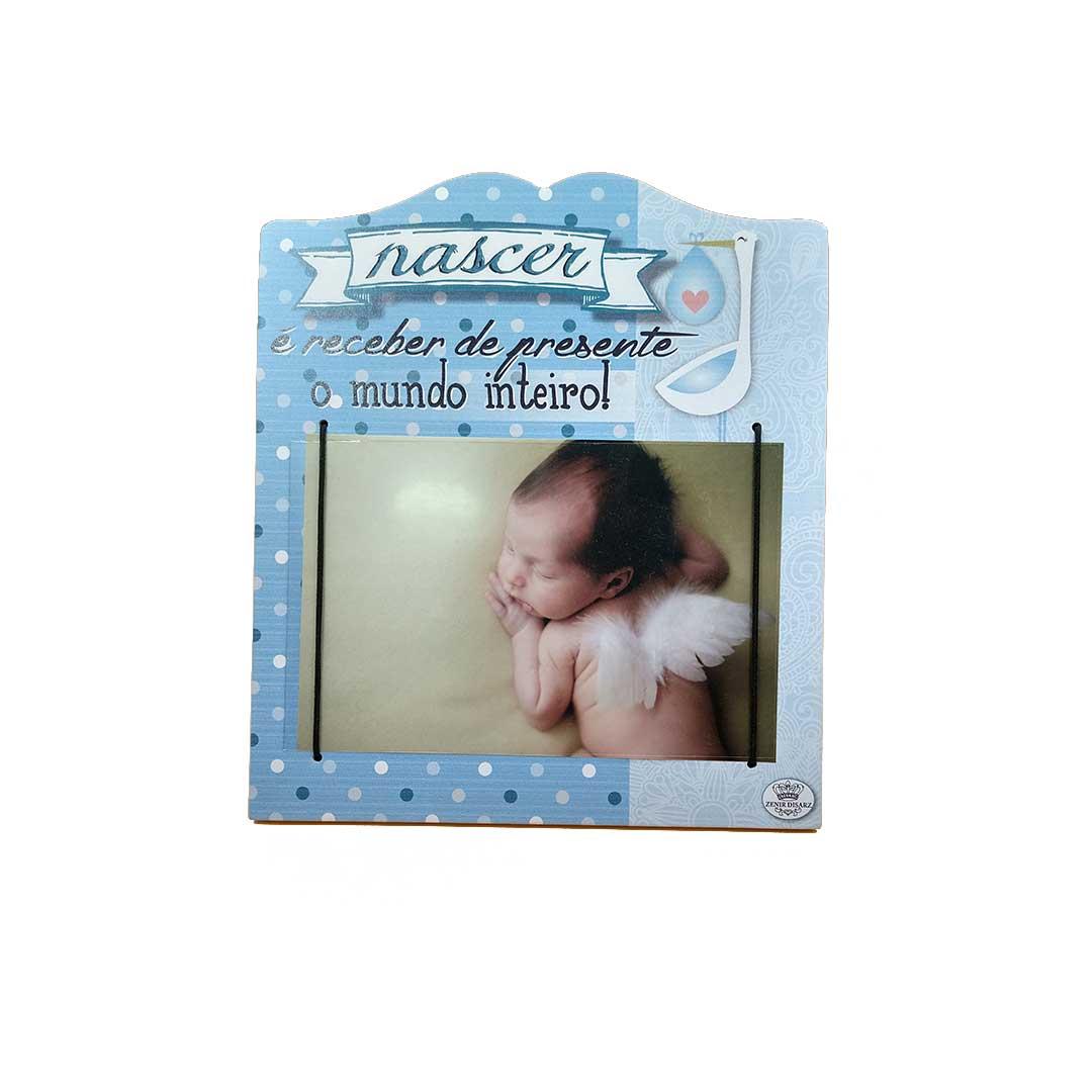 Porta Retrato - Nascer Azul